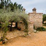 Zona Exterior Trasera Casa Rural Mas els Vilars